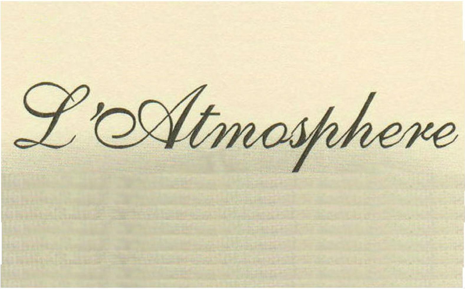 L'Atmosphere